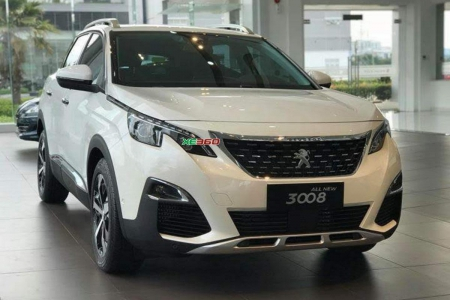 Peugeot 3008  All New - Pearl White