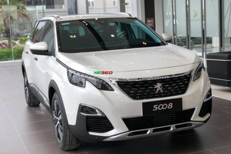 Peugeot 5008  - Pearl White