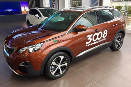 Peugeot 3008 - Metallic Copper